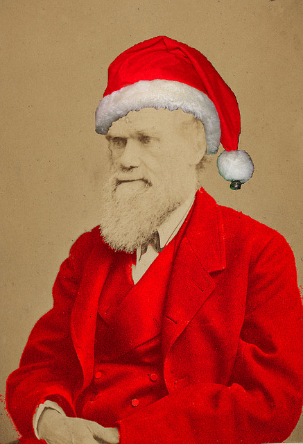 Charles Darwin is Santa Claus