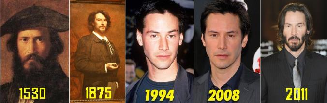 Keanu Reeves is immortal