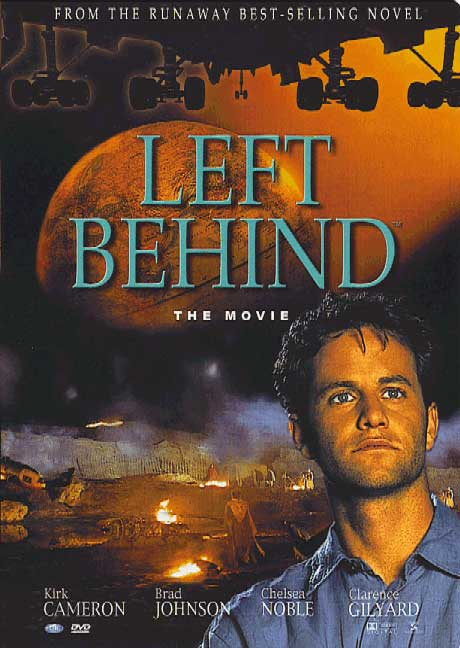 Left Behind movie, and Jesus raptures Christians, but not Kirk Cameron.