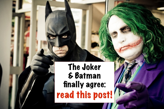 The Joker & Batman agree