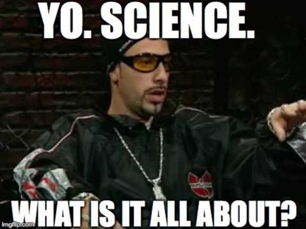 Ali G science