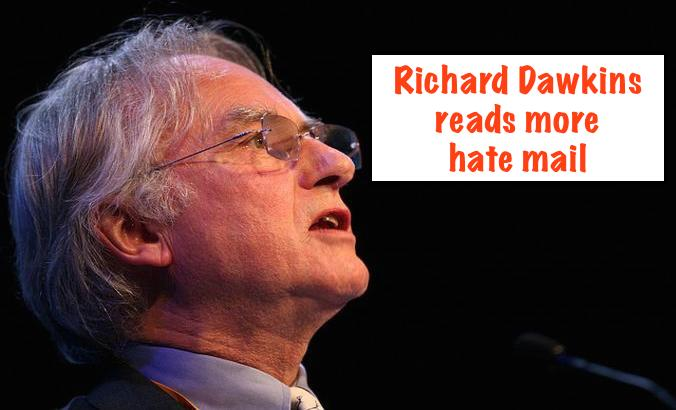 Richard Dawkins Hate Mail