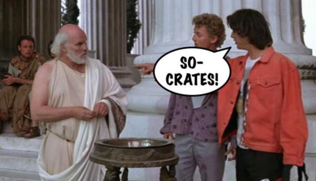 Socrates Bill & Ted